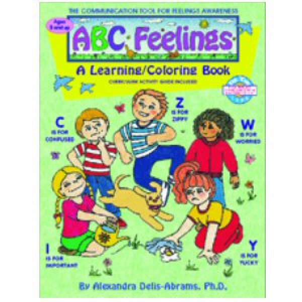 ABC Feelings: A Learning - Coloring Book